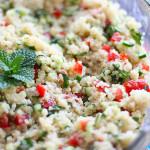 Tabule de Quinoa – mais uma da Berê