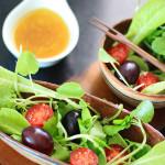 Uma salada e pensamentos sobre ter uma (pequena) horta