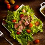 Salada com Rosbife