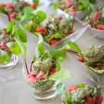 A Cozinha da Alice # 33 – Salada três brotos e molho de hortelã e grana