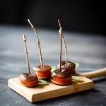 Macarons de cogumelos