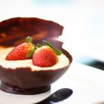A Cozinha da Alice – Casquinha de chocolate com mousse de café