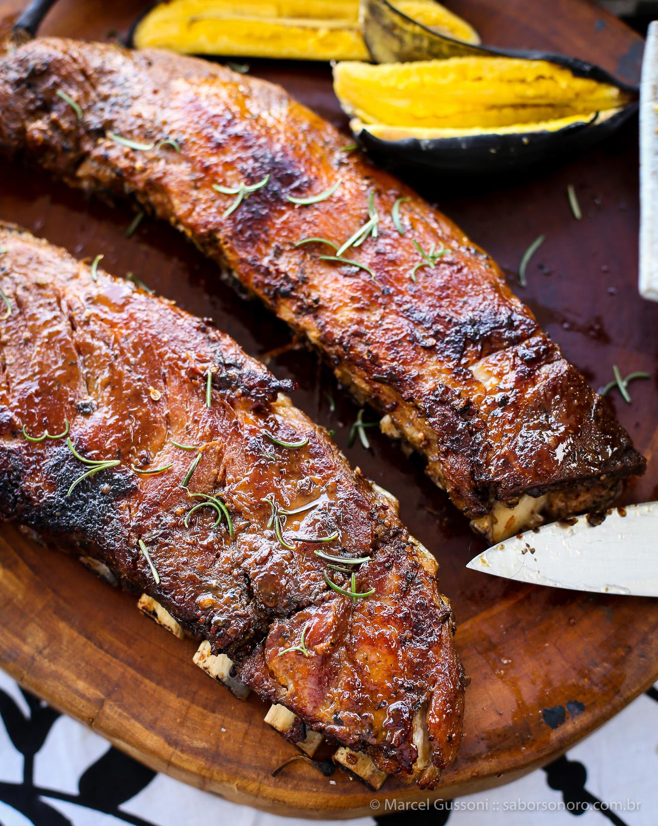 costelinha de porco ao forno - receita