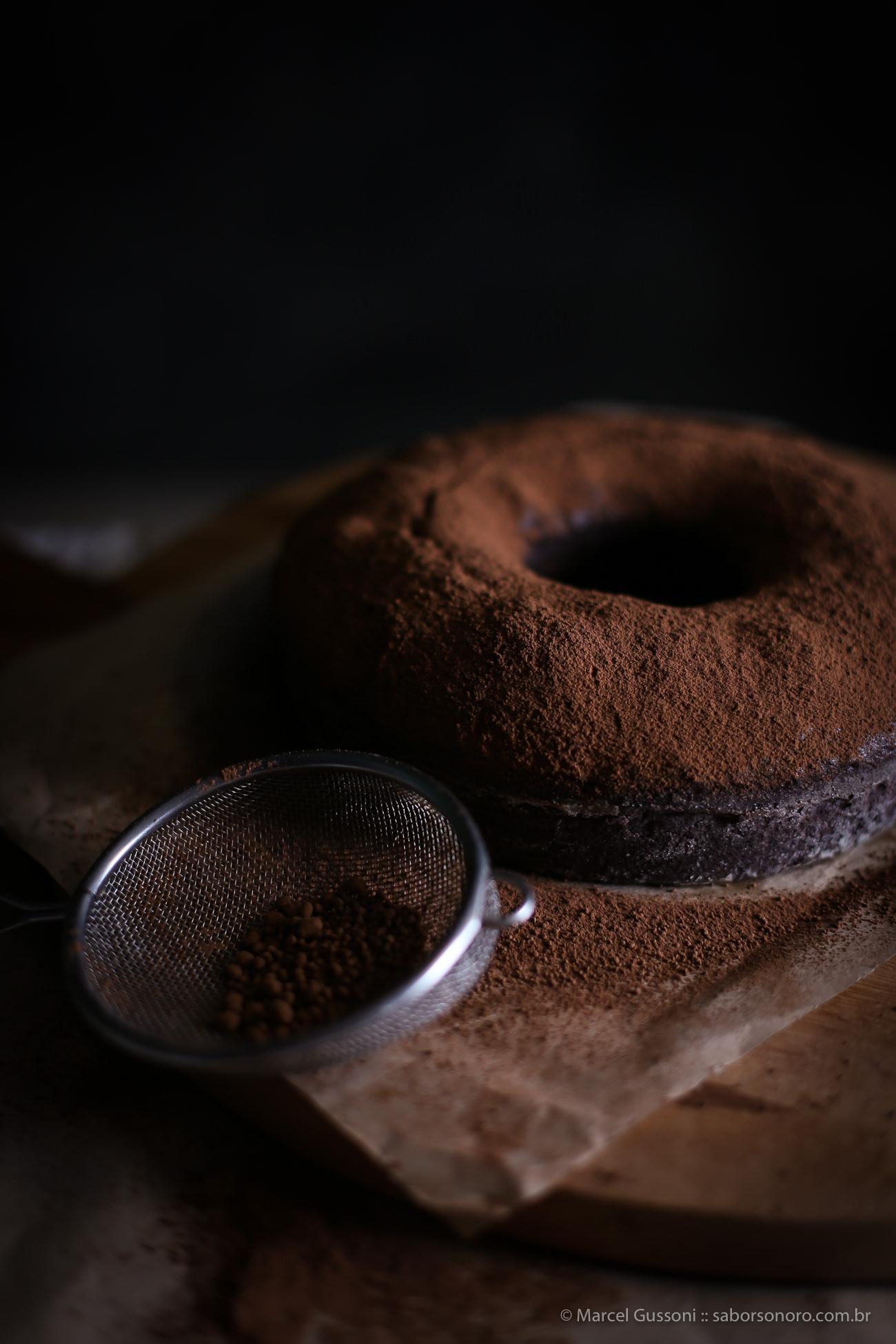 bolo de cacau receita brownie